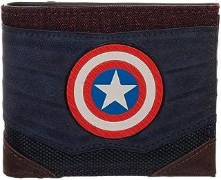 Captain America Wallet Marvel Gift Captain America Accessories - Marvel BiFold Wallet Captain America Gift