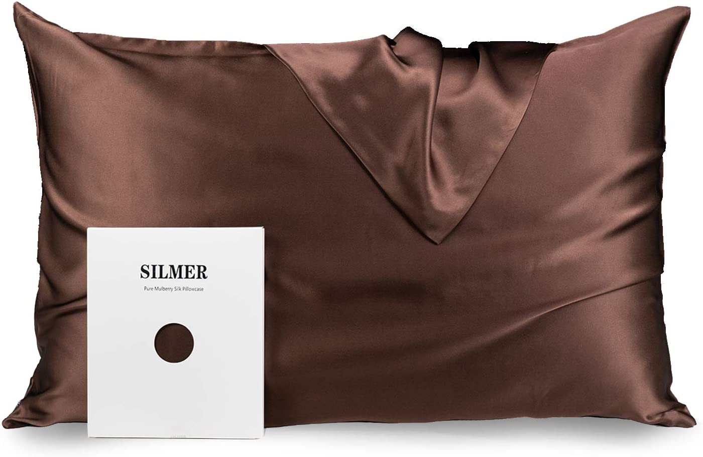 SILMER Silk Pillowcase Natural Mulberry Momme Thr 600 Super sale Limited Special Price 22