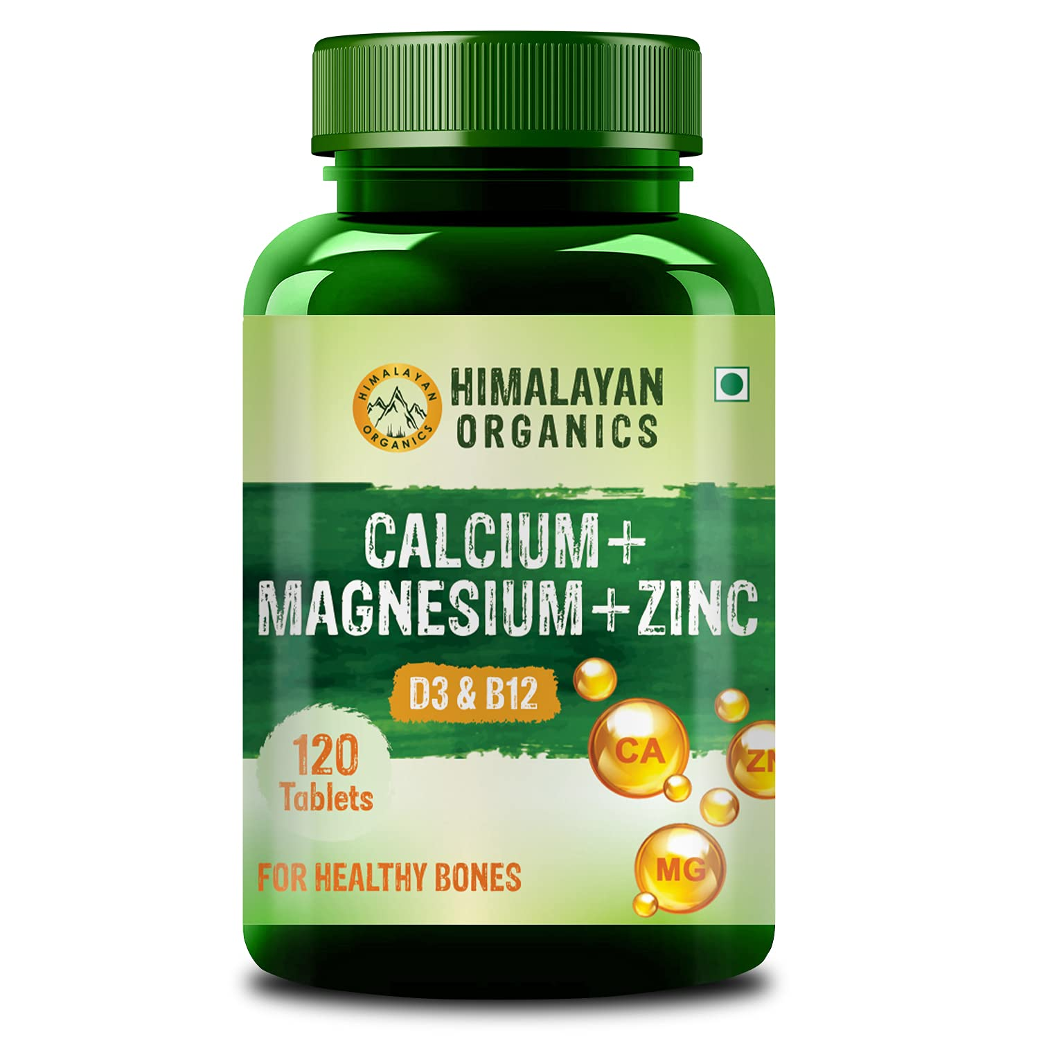 Himalayan Organics is the best calcium tablets for both men and women in India