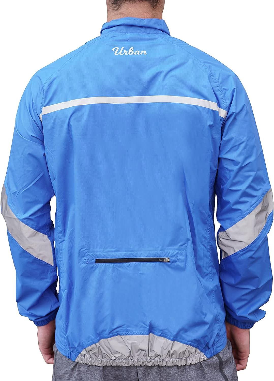 Windproof & Waterproof Men's Cycling Jacket : Sports & Outdoors