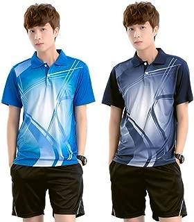 【 上下セット 】monoii 卓球 ユニフォーム シャツ ウェア ゲーム シャツ 半袖 メンズ