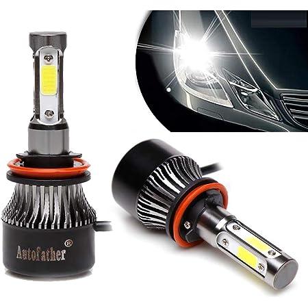LED Headlight Kit H8 H9 H11 1060W 159000LM 6000K Low Beam Fog Bulb HID