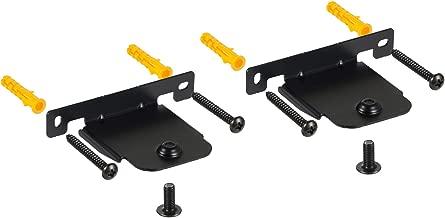 EwinYee Wall Mount Bracket for LG Soundbar Compatible with SH2 SH4 SH5 SH8 SJ4R SJ2 SJ4 SJ6 HS7 SK4D SJ5B SJ8S LAS455H NB5540/S54A1-D NB4540/S44A1-D NB4542DEUSLLF LAS551H S55A1-D LASC55 with Screws