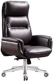 HEMFV Silla de escritorio ergonómica Silla giratoria giratoria ejecutiva Silla de escritorio de oficina giratorio con reposabrazos de soporte lumbar silla ergonómica silla de espalda alta espalda de c