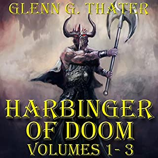 Harbinger of Doom (Epic Fantasy Three Book Bundle) cover art