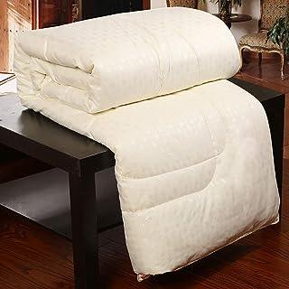 Silk Quilt Single,All Seasons Weight 100% Mulberry Silk Filled Duvet Quilt,Silk Quilt King Size, Duvet,Multiple Sizes (220 X 240cm)