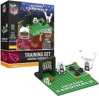 NFL Arizona Cardinals Arizona Cardinals Training Camp Set OYO Sports Toys with 2 Minifigure 106PCSArizona Cardinals Training Camp Set OYO Sports Toys with 2 Minifigure 106PCS, red/White, One Size