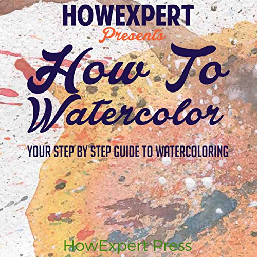 How to Watercolor audiobook cover art