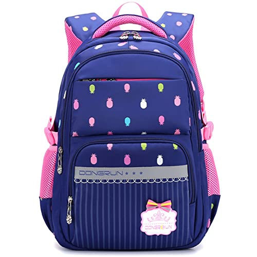 9a87c4318b00 Uniuooi Primary School Bag Backpack for Girls 7-12 Years Old Waterproof Nylon  Kids Schoolbag