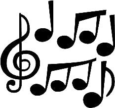 ceiba tree Jumbo Music Note Cutouts for Concert Party School Bulletin Board Supply 1 Dozen