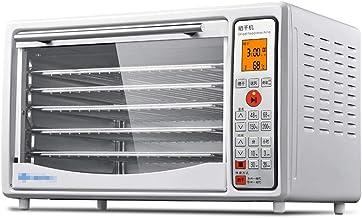 Máquina de conservación de alimentos para el hogar Secador de alimentos, secado de bandejas de acero inoxidable y deshidratador de frutas de vegetales pequeños para el hogar, doble uso y horno