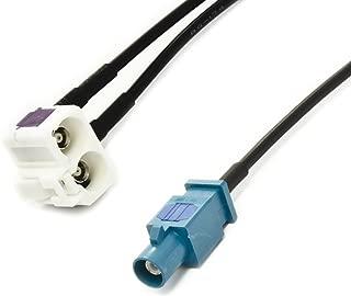 Antena/ /Extensi/ón de 4,5/m con schaltlitze de conector DIN a DIN hembra de