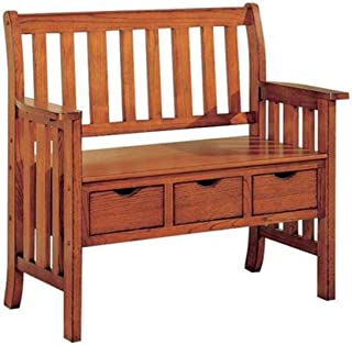 Best oak deacons bench Reviews