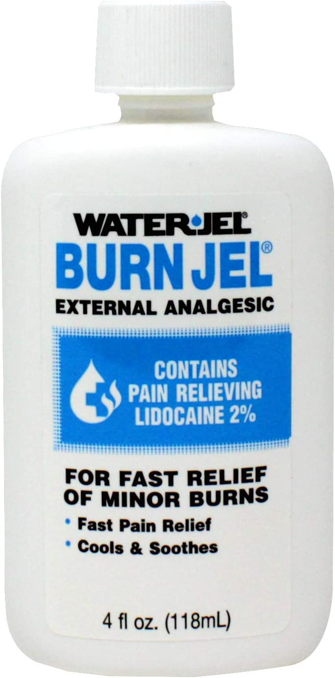 Water Jel Burn Minor Relief 4 Squeeze Max 66% OFF National products oz Bottle Gel