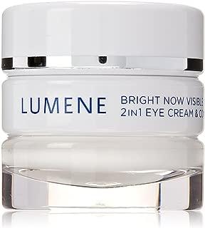Lumene Bright Now Visible Repair 2合1眼霜和遮瑕膏,0.57液体盎司