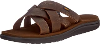 Teva Men's Voya Slide Leather Flip-Flop