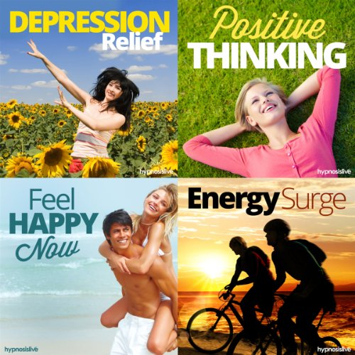 Burst Out of Depression Hypnosis Bundle audiobook cover art