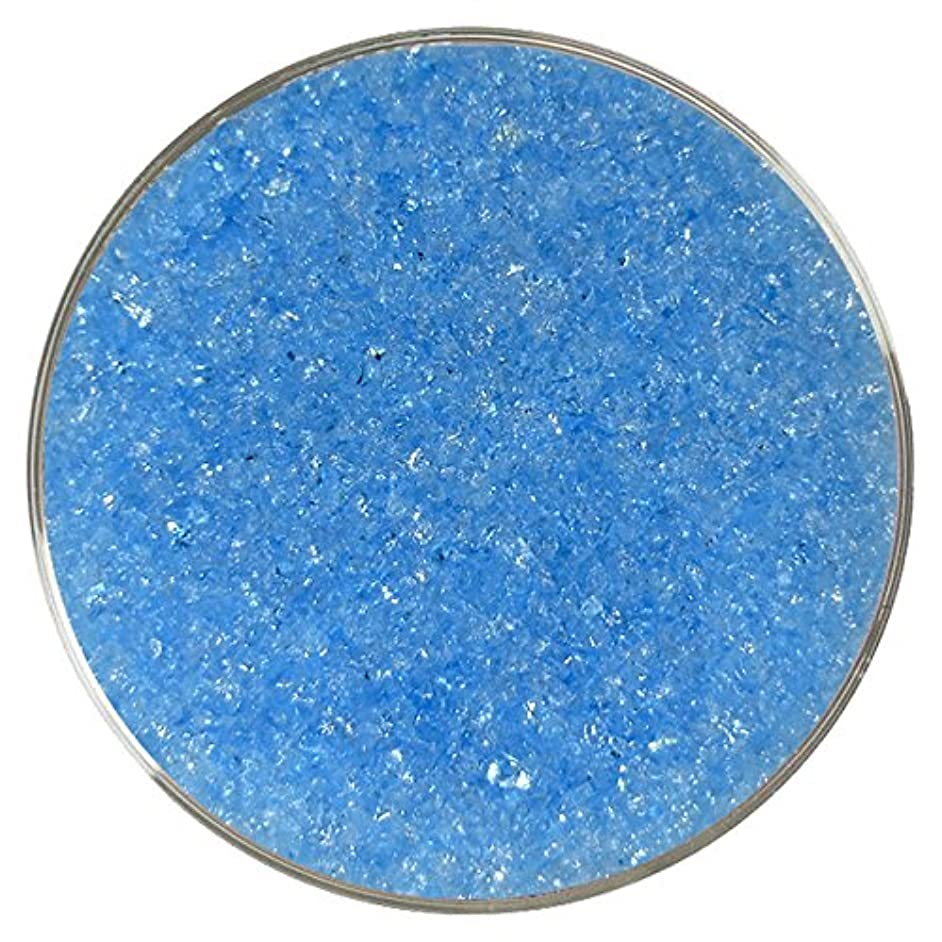 Aqua Blue Iridescent Medium Frit - 96COE - 4oz - Made from System 96 Glass