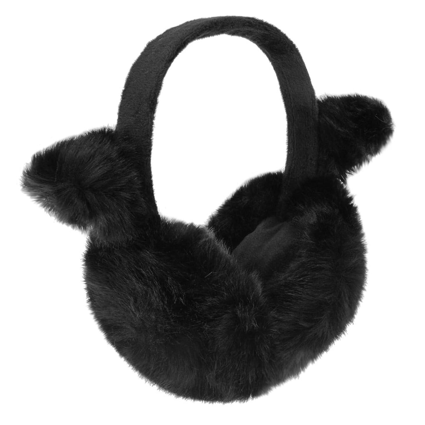 Women Girl Faux Fur Earmuffs Earwarmers Ear Muffs Earlap Snow Cycling Ear Cover