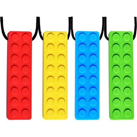 Cute Silicone Teething Necklace Baby Teether Toy Autism Sensory Chew BPA Free