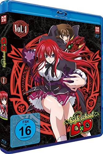 Highschool DxD - Staffel 1 - Vol.1 - [Blu-ray]