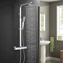 Amazon.es: barra ducha acero inoxidable