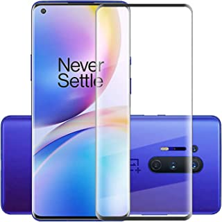 Al-HuTrusHi Oneplus 8 Pro Screen Protector,[Full Glue][3D Full Coverage][9H Hardness] [Scratch Resistant] Tempered Glass S...