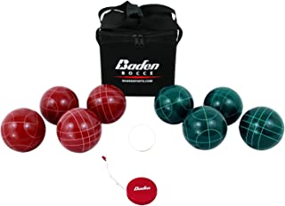 Baden Champions 90mm Bocce Ball Set with Carry Case and Measuring Tape