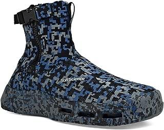 SoftScience Men's The Fin Boots Blue Neoprene, Mesh, 8 M US