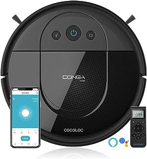 comprar comparacion Cecotec Robot Aspirador Conga Serie 1690 Pro. 2700 Pa, Tecnología de Sensor Óptico iTech SmartGyro Eye, App con Mapa, Aspi...