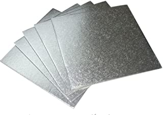 Plata cuadrado/redondo para tartas tarjetas juntas 3mm