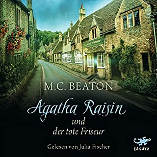 Agatha Raisin und der tote Friseur Titelbild