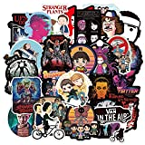 100pcs/pack Classic TV Show Stranger Things Stickers For Refrigerator Car Helmet DIY Gift box Bicycle Guitar Notebook Trunk Etc