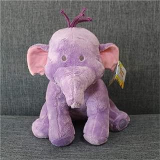 MRWJ 1 Piezas Eeyore Donkey Bear Tigger Tiger Piglet Pig Yellow Rabbit Roo Heffalump Elephant Plush Toy Cute Stuffed Animals Kids Toys, Púrpura