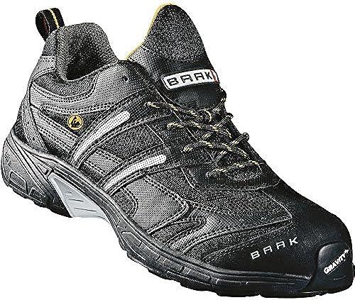 S1P chaussures de de sécurité ESD BAAK John Sports exclusive, gris, 7542 BGR191  chaussures adaptées aux semelles orthopédiques, gris, Taille 45  prix les plus bas