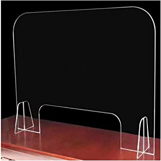 Prevention Of Splash Infection Highly Transparent Acrylic Partition Board Thickness 3mm Excellent Stability Various Sizes ...