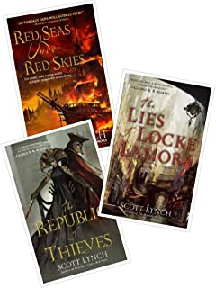 Scott Lynch's Gentleman Bastards Books 1-3 in the Series (Set Incldues: The Lies of Locke Lamora, Red Seas Under Red Skies and The Republic of Thieves)