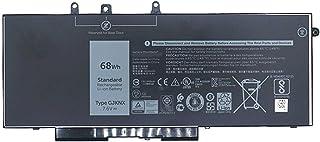 GJKNX GD1JP Batería de computadora portátil para DELL Latitude 5580 5480 5280 Portátil de la Serie Precision 15 3520(7.6V 68Wh)