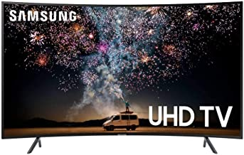 $742 » Samsung UN65RU7300F 65-inch 4K UHD HDR LED Smart Curved TV - 3840 x 2160 - Motion Rate 120 - Alexa, Google Assistant Supported - Wi-Fi - HDMI (Renewed)