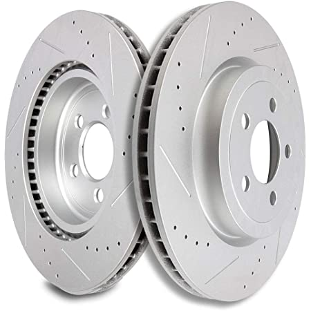 OE Replacement Rotors w//Ceramic Pads F+R See Desc. 2010 Fit Dodge Charger
