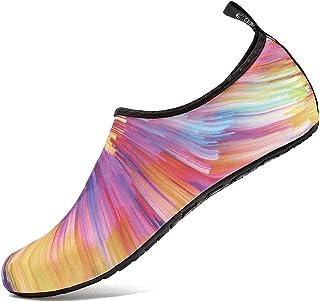 Deevike, Zapatos de agua, de playa, de natación, para playa, para yoga, aqua, secado rápido, para hombre y mujer