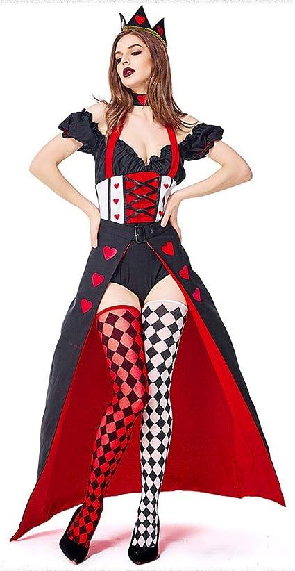 REGINA di Cuori Donna Costume Halloween