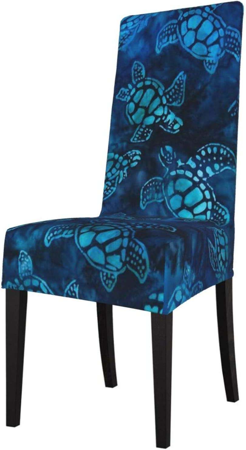 Set of Industry No. 1 2 Max 63% OFF Stretch Dining Room Chair Covers Watercolor Blue Tu Sea