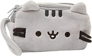 Zipper Purse Bag, Creazy Cat Pencil Case Cute Plush Pen Bag Makeup Pouch Cosmetic Bag Kid Stationery Gift