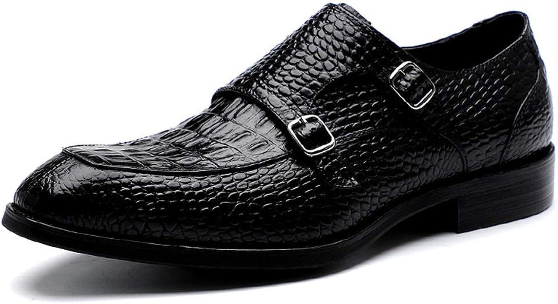 TYX -SS Mans Pointed skor Business Leather Leather Leather Buckle Store Storlek skor  kom att välja din egen sportstil