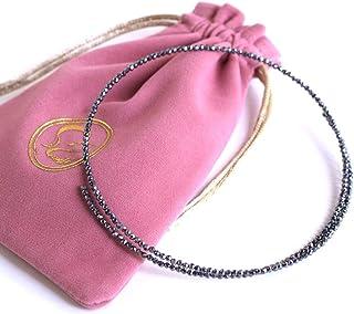 [Amazon限定ブランド] Beautéller テラヘルツ ネックレス スピネルカット 2mm 【形状記憶 ネックレス】
