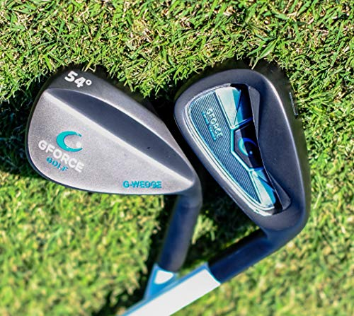 GForce Golf LEFT HAND Swing Trainer 7 Iron - Voted GolfWRX Top Training Aid - PGA Support Centre - Free PGA Training Videos On YouTube - Trusted on Tour & By 1000's of Amateurs