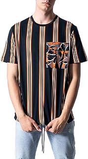 Antony Morato Man T-Shirt Stampa riga mmks01714-fa100144 m Black