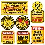 Zombie Outbreak Response - Set di 7 adesivi