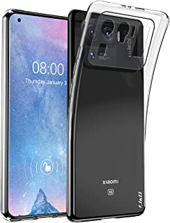 J&D Case Compatible for Xiaomi Mi 11 Ultra Case, Ultra Slim Lightweight Clear Anti-Shock Protective Rubber Silicone Bumper...